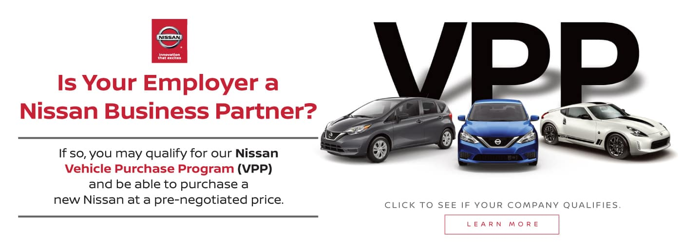 Nissan VPP Special Offers