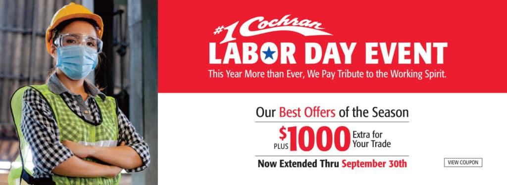 #1 Cochran Labor Day Event!