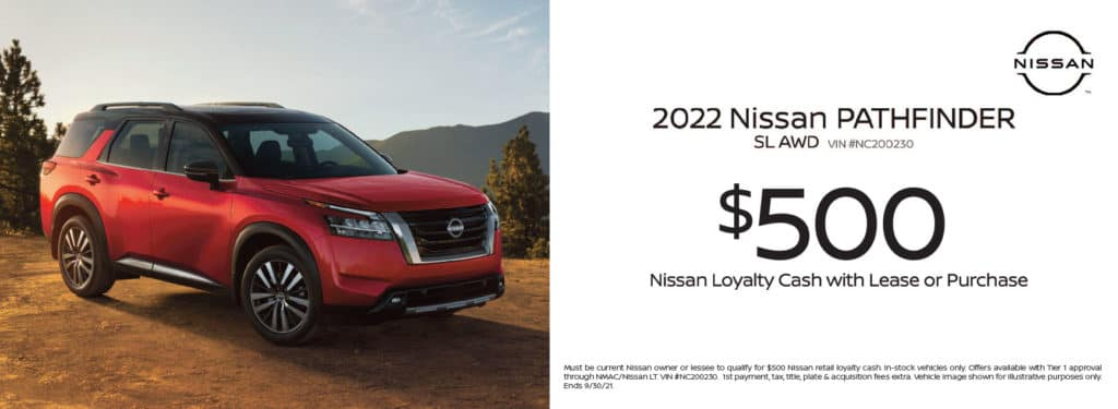 New 2022 Nissan Pathfinder