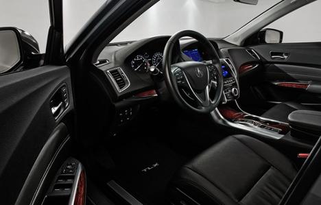 Interior 2017 Acura TLX SH-AWD Elite at Acura Pickering