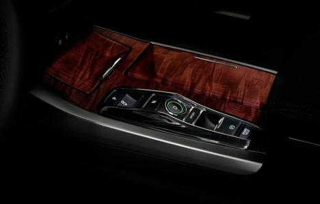 Controls on 2017 RLX Elite at Acura Pickering