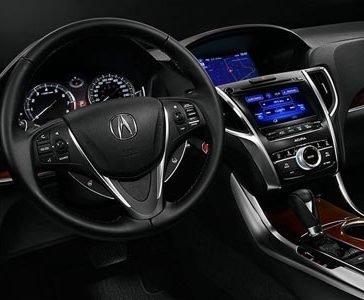 TLX Wheel Controls