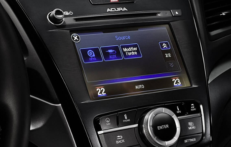 Audio system of 2017 ILX TECH at Acura Pickering