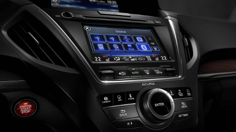 Acura Pickering 2017 MDX Tech audio system