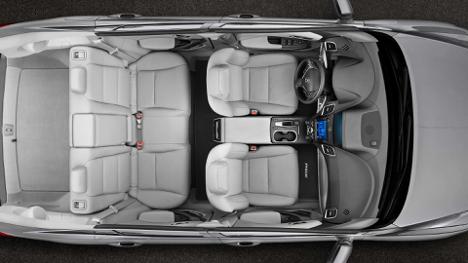 Interior of 2018 ACURA RDX ELITE at Acura Pickering