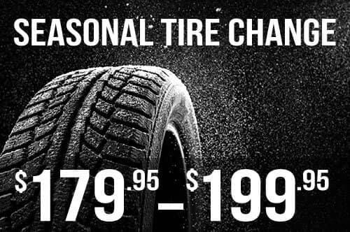 Acura Pickering Seasonal Tire Change from $179.95-$199.95