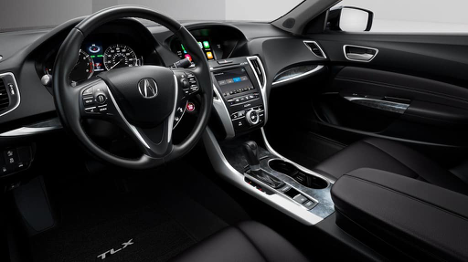 Interior of 2018 TLX SH-AWD Tech at Acura Pickering
