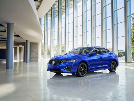 Acura Pickering 2019 ILX includes technological advances from the pervious model