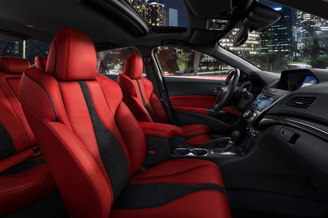 interior of the 2019 ILX available at Acura Pickering