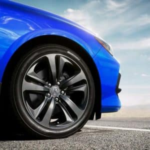 alloy wheels on 2021 Acura TLX available at Acura Pickering