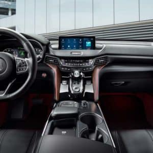 interior of 2021 Acura TLX available at Acura Pickering