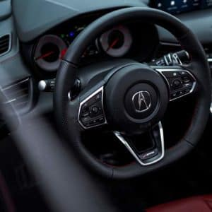 interior of the 2021 Acura TLX available at Acura Pickering