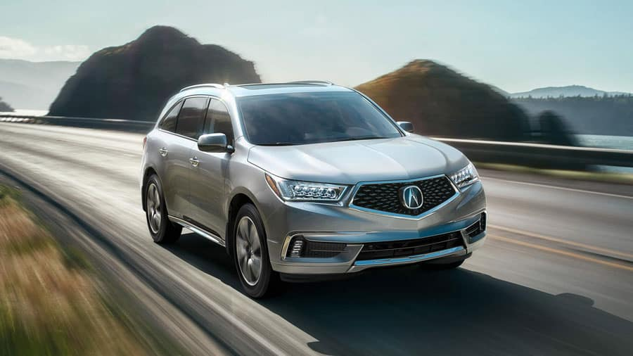Acura MDX exterior at Acura Pickering