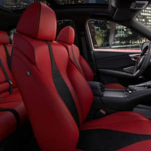 2021 Acura RDX Red Interior available at Acura Pickering