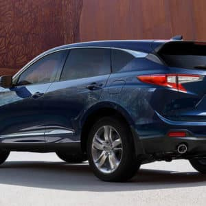 2021 Acura RDX Blue Exterior available at Acura Pickering