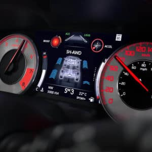 2021 Acura RDX A-SPEC Instrument Panel available at Acura Pickering