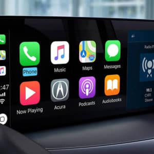 2021 Acura RDX with Apple CarPlay available at Acura Pickering