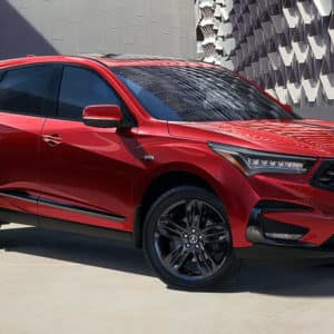 2021 Acura RDX Red Exterior available at Acura Pickering