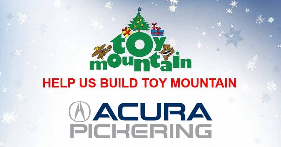 Toy Mountain at Acura Pickering