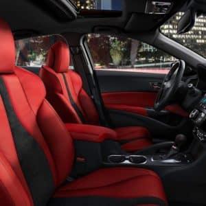 2020 Acura ILX Red Interior - Acura Pickering