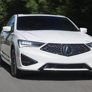 2020 Acura ILX White Exterior Front - Acura Pickering