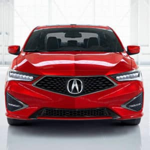 2020 Acura ILX Red Exterior Front - Acura Pickering