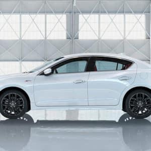 2020 Acura ILX White Exterior Side - Acura Pickering