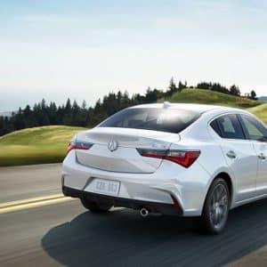 2020 Acura ILX White Exterior Back - Acura Pickering