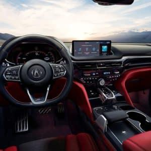 2022 Acura MDX Red Interior - Acura Pickering