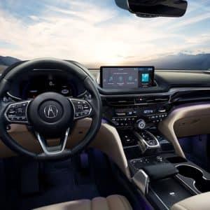 2022 Acura MDX Beige Interior - Acura Pickering