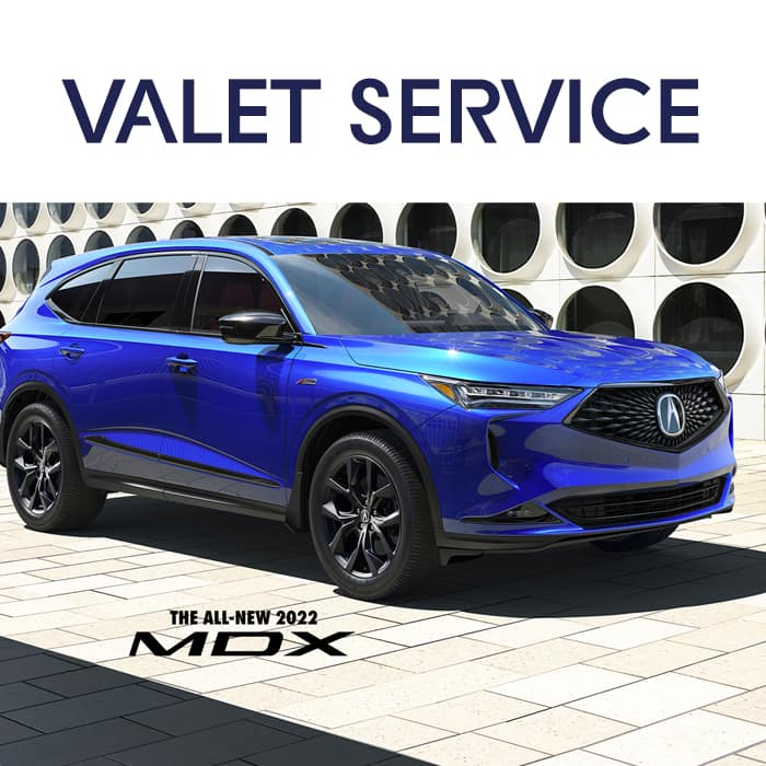 Valet Service at Acura Pickering in Pickering Ontario