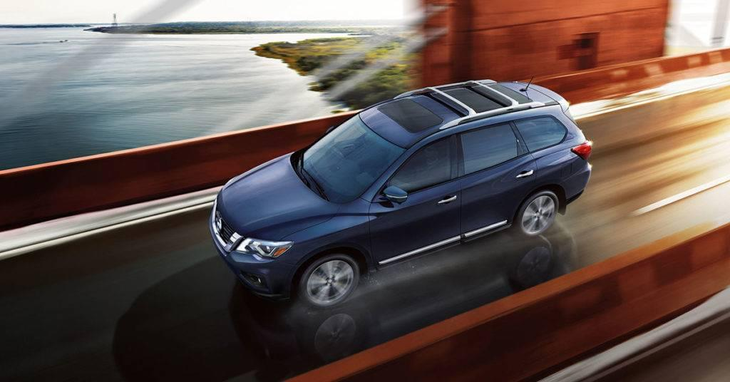2017 Nissan Pathfinder Platinum Demo