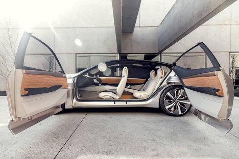 Nissan Vmotion 2.0 Concept interior look Agincourt Nissan