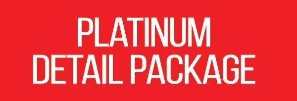 Platinum Detail Package