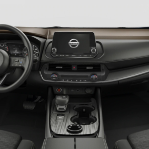 2021 Nissan Rogue front interior
