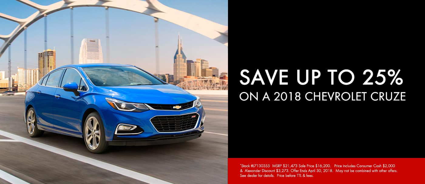 April 2018 Cruze Offer Slide