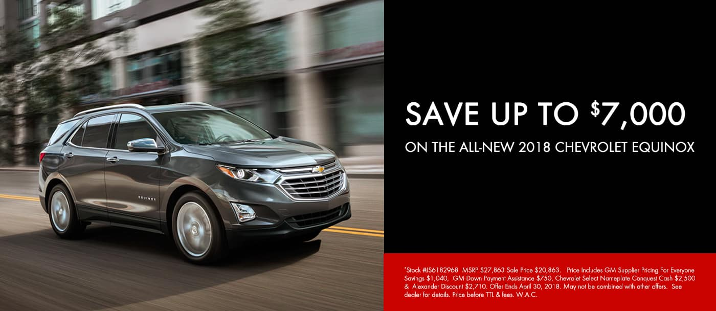 April 2018 Equinox Offer Slide