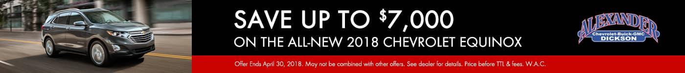 April 2018 Equinox Offer Banner
