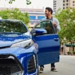 Blue Crush Metallic 2017 Toyota Corolla- Andrew Toyota, Milwaukee WI