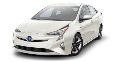 2018 Toyota Prius in Blizzard Pearl- Andrew Toyota, Milwaukee WI
