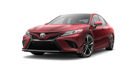 2018 Toyota Camry in Ruby Flare Pearl- Andrew Toyota, Milwaukee, WI