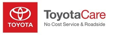 ToyotaCare Complimentary Maintenance plan comes with the purchase or lease of all New Toyota vehicles at Andrew Toyota.