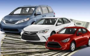 Using your tax refund is a great way to buy a car at Andrew Toyota in Milwaukee.