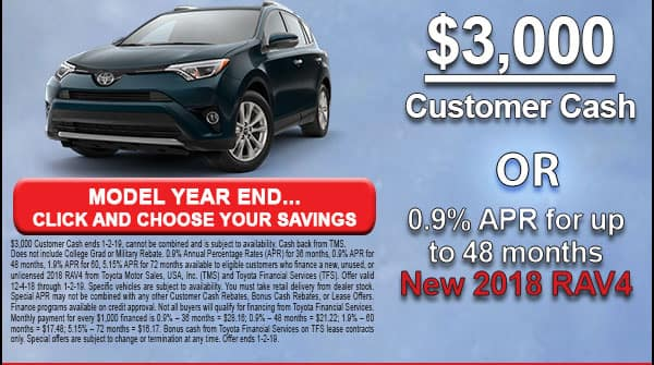 Click here and view the RAV4 deals at Milwaukee's Andrew Toyota in Glendale, Wisconsin.