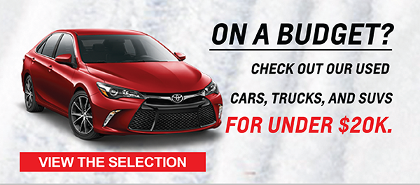 Used car deals are at Milwaukee's Andrew Toyota in Glendale, WI.