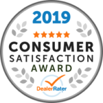 Andrew Toyota Is Proud To Announce That They Are A 2019 Consumer Satisfaction Award Winner.