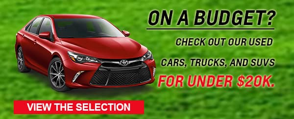 Ready for a great used ca deal? Visit Milwaukee's Andrew Toyota in Glendale.