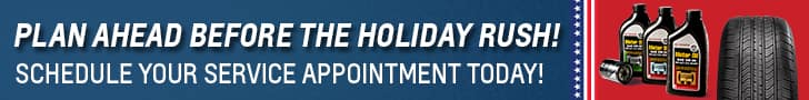 Avoid the holiday Memorial day road trip rush. Visit Andrew Toyota.