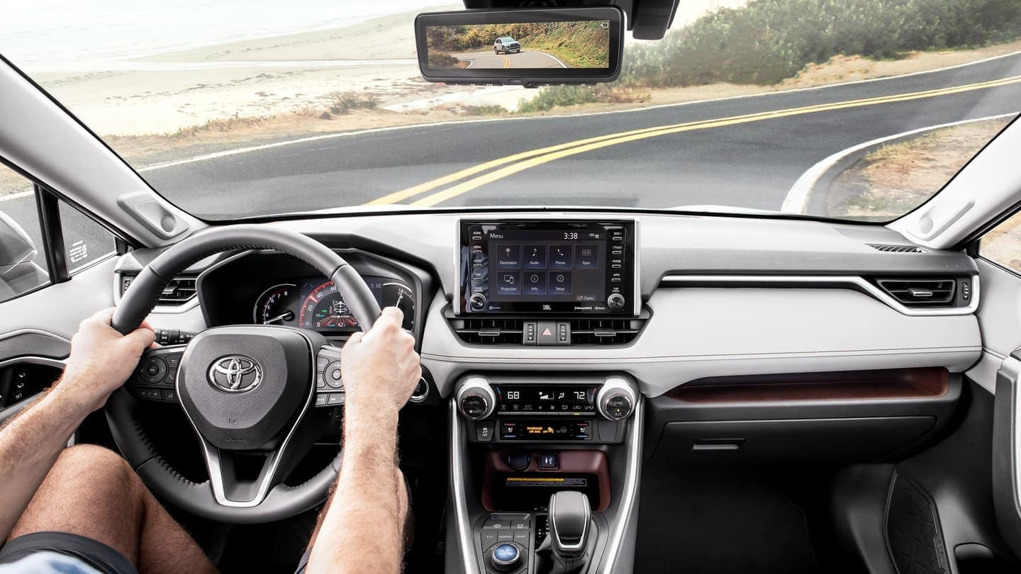2019 Toyota RAV4 interior dashboard