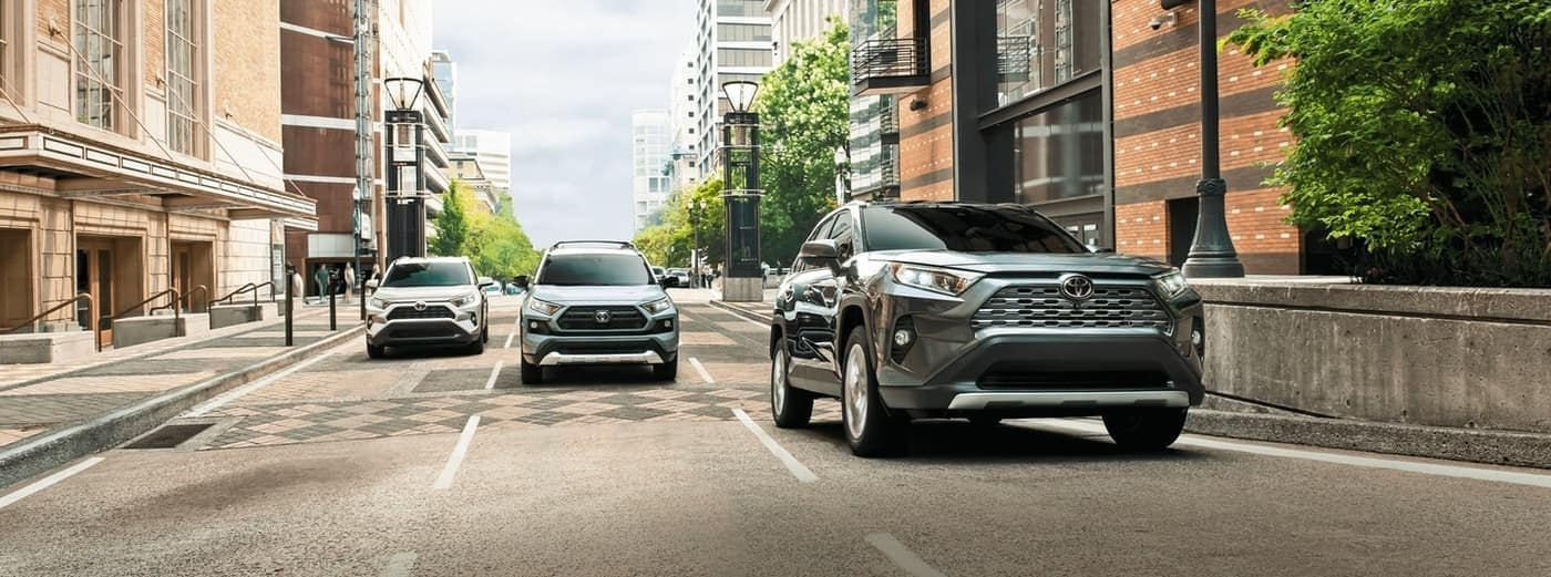 2020 Toyota RAV4 model lineup